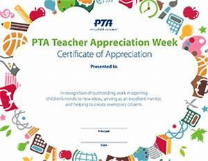 Teacher Appreciation Week, May 2-6, 2016