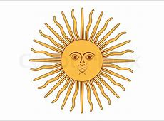 Sun of May vector illustration stock vector