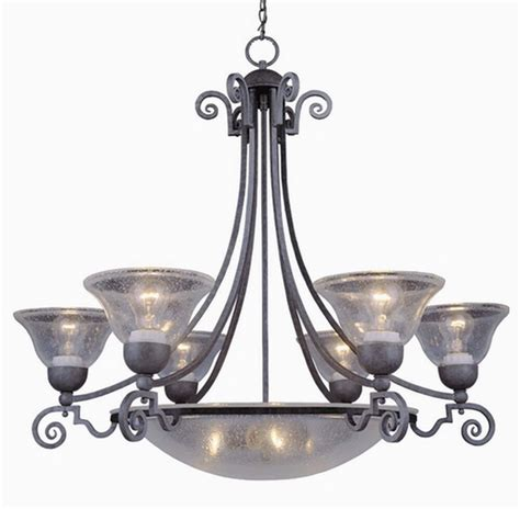 Pewter Chandelier by Antique Pewter 9 Light Chandelier 30 5 Quot X 33 Quot Ebay