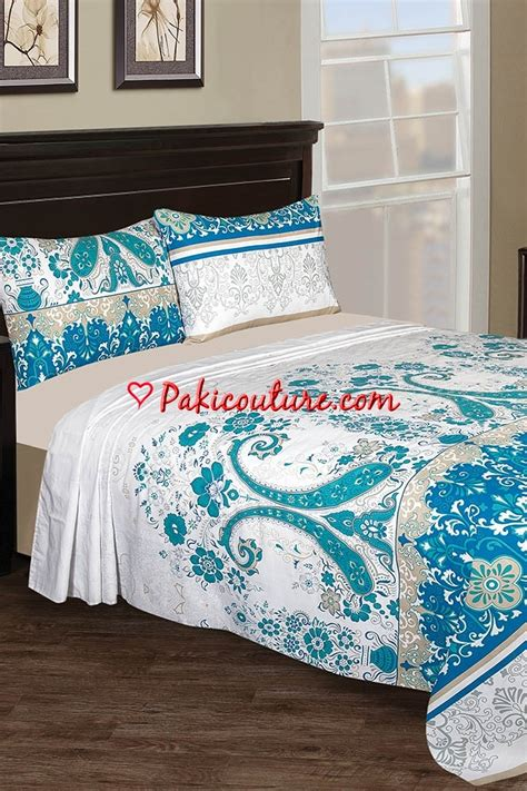 Nishat Linen Bed Sheets Collection 2017 At Pakicouturecom
