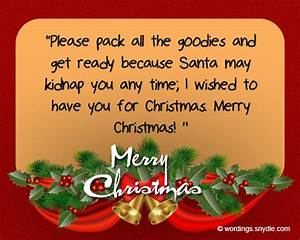 Funny Christmas Greetings For Friends - Wordings and Messages