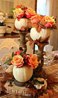 thanksgiving table centerpieces 55 Beautiful Thanksgiving Table Decor Ideas - DigsDigs
