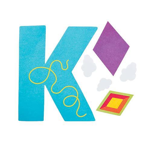letter k crafts k is for kites letter k craft kit trading