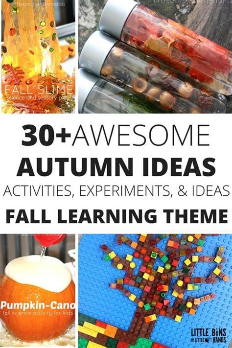 fall stem ideas  autumn science activities