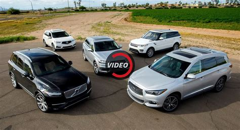 Luxury Suv Comparison by Kbb Puts Together Midsize Luxury Suv Comparison Test