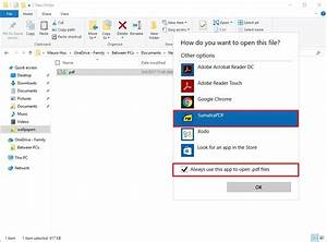 how to ditch microsoft edge as your default pdf reader on With documents app windows 10