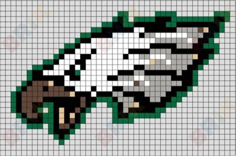 philadelphia eagles perler beads crochet football blanket cross stitch fonts