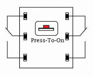 Push On Push Off Button Led Circuit