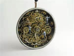 Artist's repurposed vintage pocket watches reveal magical ...