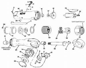 Chicago Pneumatic Craftsman Speed Ratchet Parts