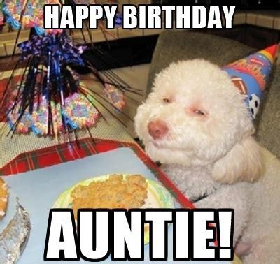 Auntie Meme - humorous birthday memes for aunt 2happybirthday