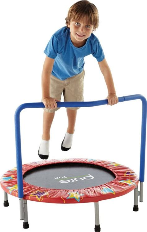 top 10 best toddler trampoline reviews your guide 2019 943 | Pure Fun 36 Inch Kids Mini Trampoline 500x790