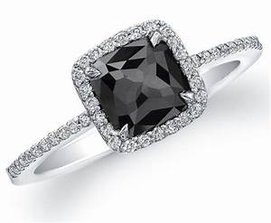 black diamond engagement rings for women With black diamond womens wedding rings