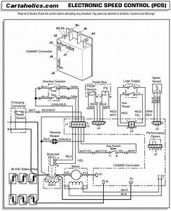 Curtis Controller Wiring Diagram 48 Volt Golf Cart