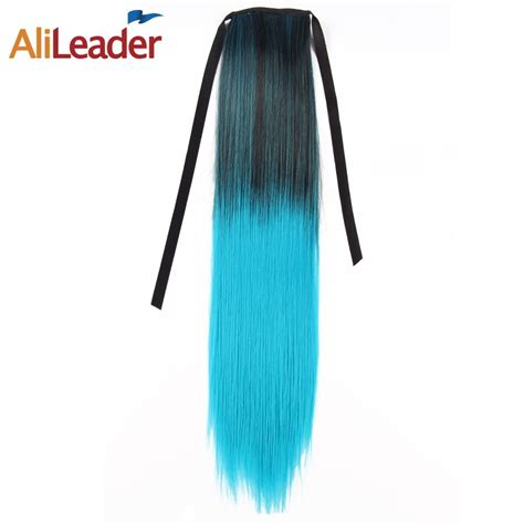Alileader Clip In Ponytail Hair Extension Synthetic