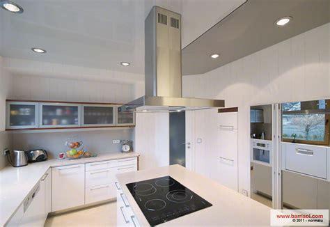 cuisine et gris cuisine le plafond tendu barrisol dans votre cuisine