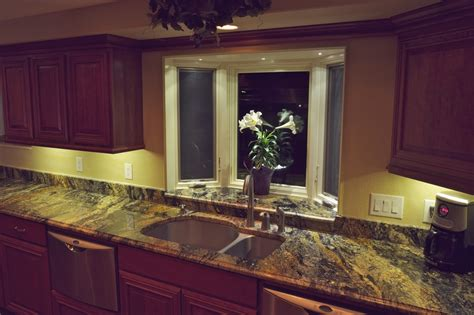 kitchen decor idea fancy kitchen lighting cabinet led greenvirals style