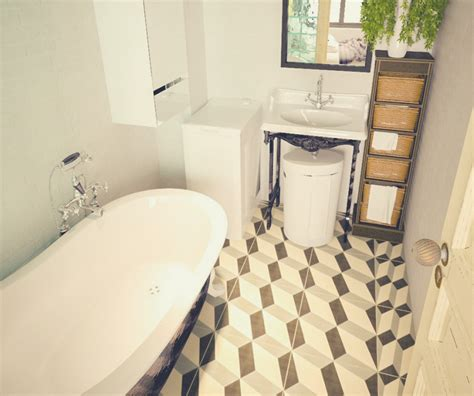 Tiling A Bathroom Floor Linoleum by The 13 Different Types Of Bathroom Floor Tiles Pros And Cons