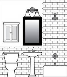 bathroom floor tile designs looking for an easy tile drawing software program