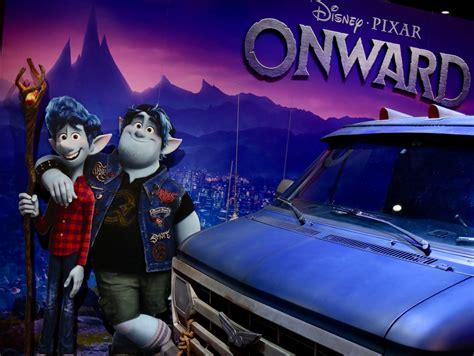 pixar fan onward guinevere van  expo