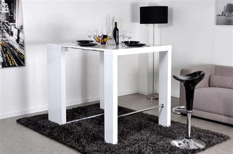 cuisine blanc laqué ikea table console haute extensible