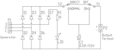 Wind Turbine Charge Controller Circuit Diagram