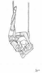Trapeze Drawing Sketch Doodles Sketches Deviantart sketch template