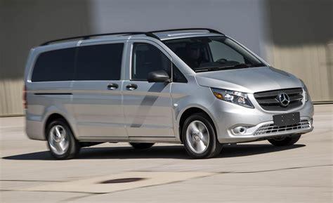 mercedes minivan 2016 mercedes benz metris passenger van test review