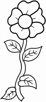 Flower Printable Coloring Pages sketch template