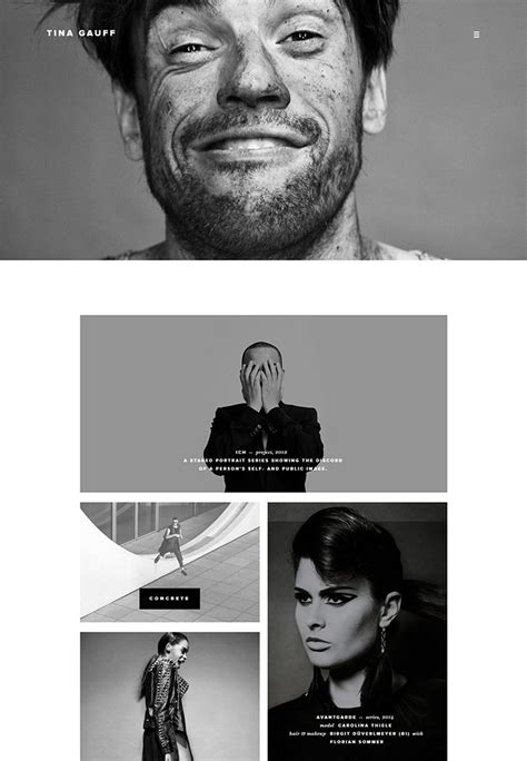 examples  amazingly designed photography website