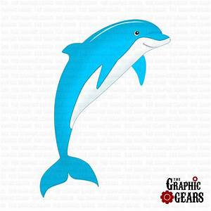 Pink Dolphins Clipart (13+)