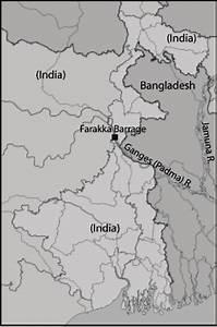 Location Of Farakka Barrage