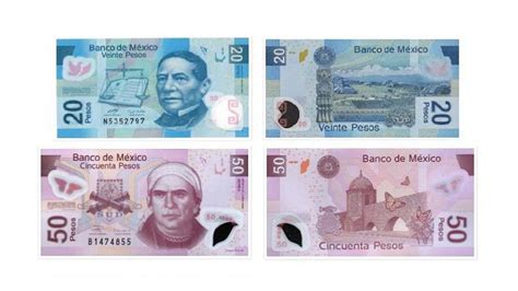 Mexican Paper Currency In
