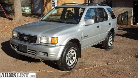 Get the most useful specifications data and other technical specs for the 1999 honda passport 2wd ex automatic. ARMSLIST - For Sale/Trade: 1999 Honda Passport EX 3.2L ...