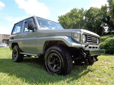 toyota 2 door suv 1990 toyota land cruiser 4x4 2 door suv 3 5l diesel low