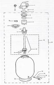 Jacuzzi Laser Sand Filter Parts Diagram