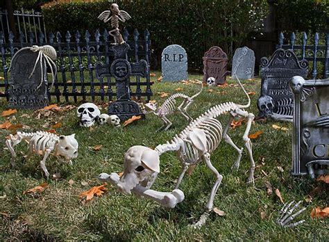 raise bony beasts   chilling pet cemetery halloween