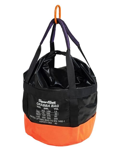 load rated lifting bags