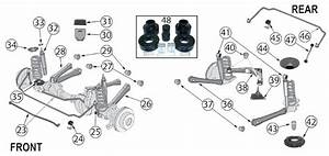 27 2004 Jeep Grand Cherokee Front End Diagram