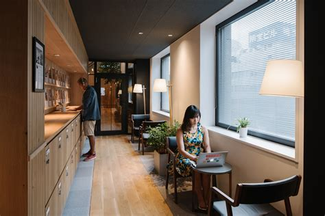 office com airbnb hq in tokyo by suppose design office yellowtrace