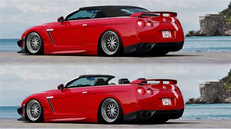 Nissan Gt-r Convertible Which Will Never Happen
