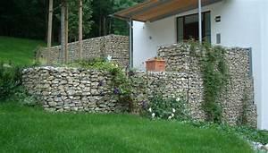 Gartenzaun Aus Stein : gabionen im garten der trend gabionenmeister ~ Lizthompson.info Haus und Dekorationen