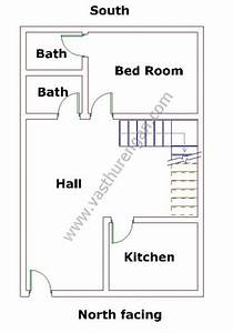 North facing house plan 6 vasthurengancom for Bathroom vastu for west facing house