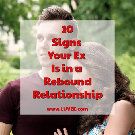 signs      rebound relationship  pay attention