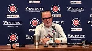 Joe Maddon on Cubs-Braves postponement - Chicago Tribune