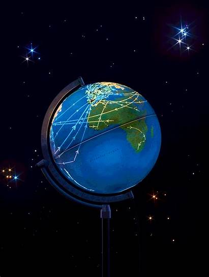 Earth Planet Data Uses Visions Globe Sphere