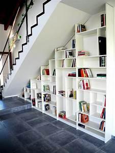 Meuble Escalier Ikea : rangement sous escalier pour optimiser l 39 espace ~ Melissatoandfro.com Idées de Décoration