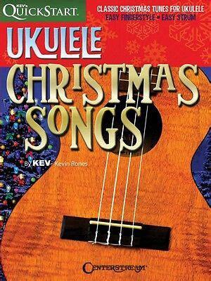 We are selling a lot of japanese sheet music books ! Ukulele Christmas Songs Sheet Music Kev's QuickStart Fretted Book NEW 000110195 884088860158   eBay