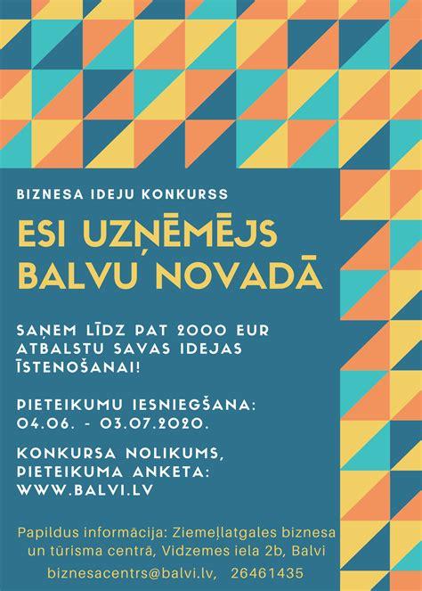 Balvu novada pašvaldība izsludina konkursu