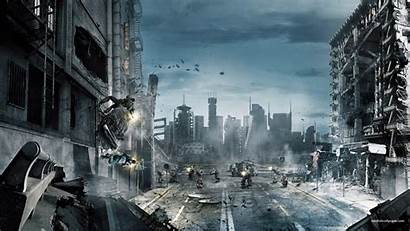 1080p Destroyed Anime Wallpapers Buildings Ps3 Games